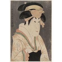 Toshusai Sharaku: Actor Segawa Kikunojô III as Oshizu, Wife of Tanabe Bunzô - Museum of Fine Arts