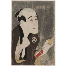 Toshusai Sharaku: Actor Ôtani Tokuji as the Manservant Sodesuke - Museum of Fine Arts