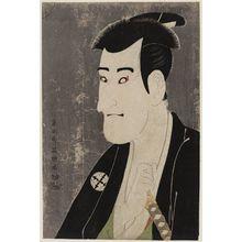 東洲斎写楽: Actor Ichikawa Komazô III as Shiga Daishichi - ボストン美術館