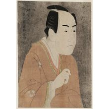Toshusai Sharaku: Actor Ichikawa Monnosuke II as Date no Yosaku - Museum of Fine Arts