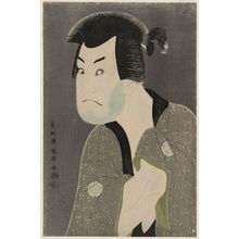 Toshusai Sharaku: Actor Sakata Hangorô III as Fujikawa Mizuemon - Museum of Fine Arts