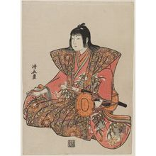 Torii Kiyonaga: Large Hand Drum, from an untitled set of Five Musicians (Gonin-bayashi) - Museum of Fine Arts