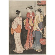 Torii Kiyonaga: The Seventh Month, from the series Twelve Months in the South (Minami jûni kô) - Museum of Fine Arts