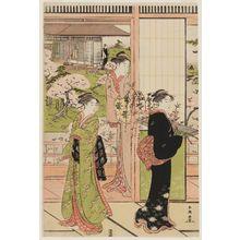 Katsukawa Shuncho: Imaginary Version of the Yoshino River Scene in the Play Imoseyama - Museum of Fine Arts