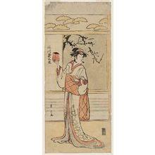 勝川春山: Actor Segawa Kikunojô III - ボストン美術館