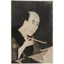 Rekisentei Eiri: Portrait of Santô Kyôden (Kitao Masanobu) - Museum of Fine Arts
