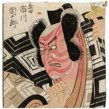 Utagawa Toyokuni I: Actor Ichikawa Danjûrô as Kintoki - Museum of Fine Arts
