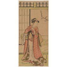 Katsukawa Shuncho: Actor Iwai Hanshirô - Museum of Fine Arts