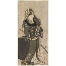 喜多川歌麿: Actor Yamashita Kinsaku II as Kokin - ボストン美術館