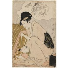 Kitagawa Utamaro: Child's Nightmare of Ghosts - Museum of Fine Arts