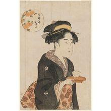 喜多川歌麿: Naniwaya Okita - ボストン美術館