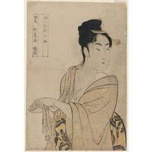 Kitagawa Utamaro: The Fancy-free Type (Uwaki no sô), from the series Ten Types in the Physiogonomic Study of Women (Fujin sôgaku juttai) - Museum of Fine Arts
