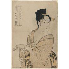 Kitagawa Utamaro: The Fancy-free Type (Uwaki no sô), from the series Ten Types in the Physiogonomic Study of Women (Fujin sôgaku juttai) - Museum of Fine Arts