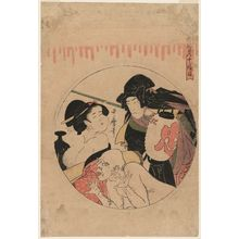 Kitagawa Utamaro: Act XI (Jûichidanme), from the series The Storehouse of Loyal Retainers (Chûshingura) - Museum of Fine Arts