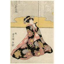 Utagawa Toyoshige: Actor Segawa Kikunojô - Museum of Fine Arts