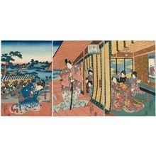 歌川国貞: Japanese print - ボストン美術館