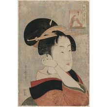 Kitagawa Utamaro: Sôjô Henjô, from the series Six Selected Elegant Poems (Fûryû rokkasen) - Museum of Fine Arts