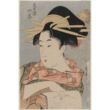 Kitagawa Utamaro: Hitomoto of the Monji-rô - Museum of Fine Arts