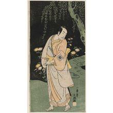 Ippitsusai Buncho: Actor Ichikawa Yaozô II as Akaneya Hanshichi - Museum of Fine Arts
