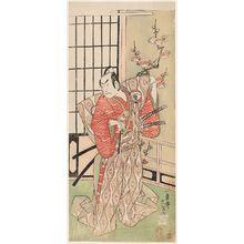 Ippitsusai Buncho: Actor Onoe Kikugorô I - Museum of Fine Arts