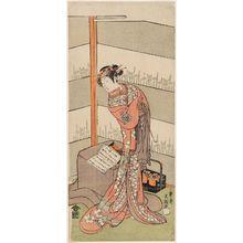 一筆斉文調: Actor Iwai Hanshirô IV - ボストン美術館