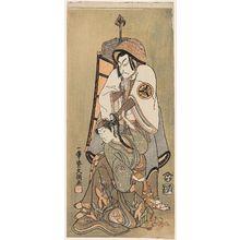 Ippitsusai Buncho: Actors Matsumoto Kôshirô as Rokubu Pilgrim and Segawa Kikunojô as a Woman - Museum of Fine Arts