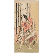 Ippitsusai Buncho: Actor Ichikawa Komazô as Soga Jûrô - Museum of Fine Arts