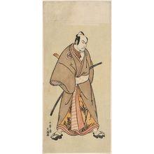一筆斉文調: Actor Matsumoto Kôshirô as One of the Gonin Otoko - ボストン美術館