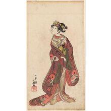 Ippitsusai Buncho: Actor Onoe Tamizô - Museum of Fine Arts