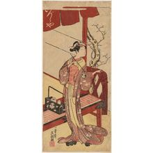 一筆斉文調: Actor Segawa Kikunojô II - ボストン美術館