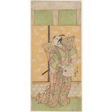 一筆斉文調: Actor Ichikawa Yaozô - ボストン美術館