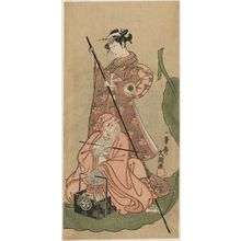 Ippitsusai Buncho: Actors as Daruma and a Courtesan - Museum of Fine Arts