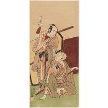 Ippitsusai Buncho: Actors Ichikawa Yaozô and Ichikawa Komazô - Museum of Fine Arts