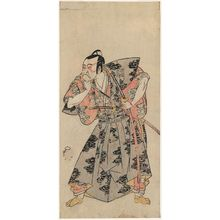 Katsukawa Shunsho: Actor Ichikawa Danzô III as Fuwa Banzaemon - Museum of Fine Arts