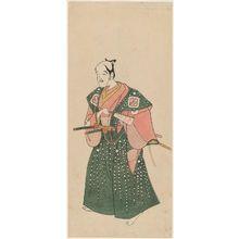 Katsukawa Shunsho: Actor Arashi Otohachi I - Museum of Fine Arts