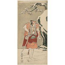 勝川春章: Actor Ôtani Hiroji III - ボストン美術館