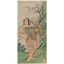 勝川春章: Actor Ichikawa Danzô III - ボストン美術館