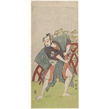 勝川春章: Actor Nakamura Jûzô II - ボストン美術館