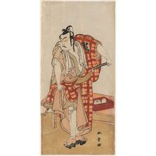 Katsukawa Shunsho: Actor as Maboroshi Takeemon, one of the Osaka no Kyokaku gonin otoko - Museum of Fine Arts