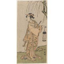 Katsukawa Shunsho: Actor Segawa Shichizô - Museum of Fine Arts