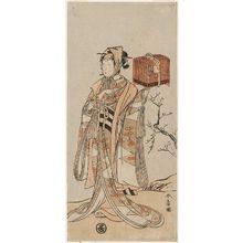 勝川春章: Actor Onoe Tamizô - ボストン美術館