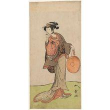 Katsukawa Shunsho: Arashi Hinaji as Osome in