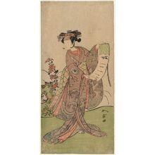 勝川春章: Actor Segawa Yûjirô - ボストン美術館