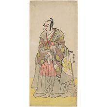 Katsukawa Shunsho: Actor Nakajima Kanazaemon as Kô no Moronao - Museum of Fine Arts