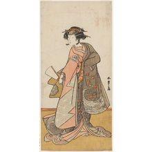Katsukawa Shunsho: Actor Yoshizawa Iroha - Museum of Fine Arts