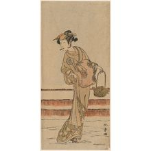 Katsukawa Shunsho: Actor Nakamura Tomijûrô - Museum of Fine Arts