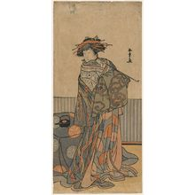 Katsukawa Shunsho: Actor Iwai Hanshirô as a Courtesan - Museum of Fine Arts