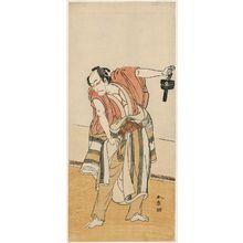 Katsukawa Shunsho: Actor Ichikawa Danjûrô V - Museum of Fine Arts