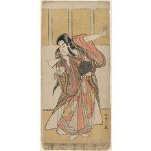 Katsukawa Shunsho: Actor Onoe Matsusuke as Kanshôjô - Museum of Fine Arts