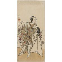 Katsukawa Shunsho: Actor Ichimura Uzaemon in a Shosa of a Fox - Museum of Fine Arts